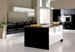 Fusion Black with White Fitted Kitchen
